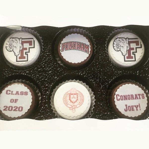 School Pride Chocolate Covered Oreo Box- Custom! - The Dessert Ladies, custom corporate gifts, gourmet chocolate gifts,