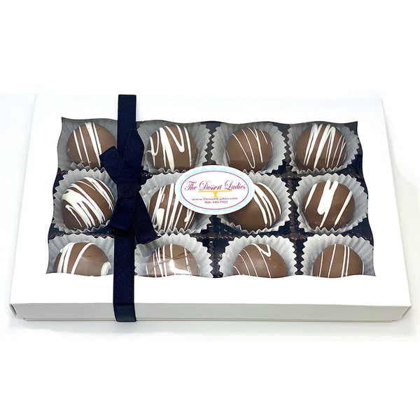 Bien Box of 12- Custom Corporate Gift - The Dessert Ladies, custom corporate gifts, gourmet chocolate gifts,