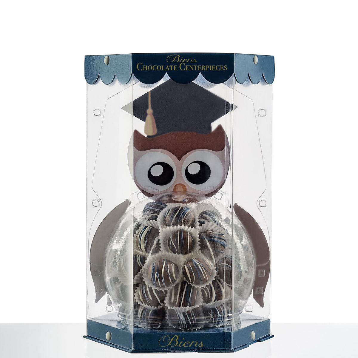 Graduation Bien Buddy- Owl - The Dessert Ladies, custom corporate gifts, gourmet chocolate gifts,