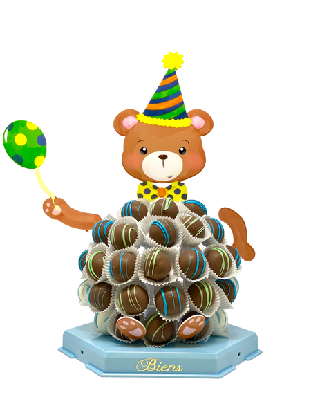Buddy the Birthday Bien Bear - The Dessert Ladies