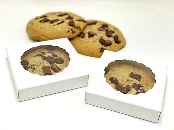 Chocolate Chip Cookie Box Favor - The Dessert Ladies