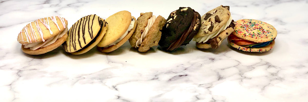Cookie Sandwich - Mixed Platter - The Dessert Ladies, custom corporate gifts, gourmet chocolate gifts,