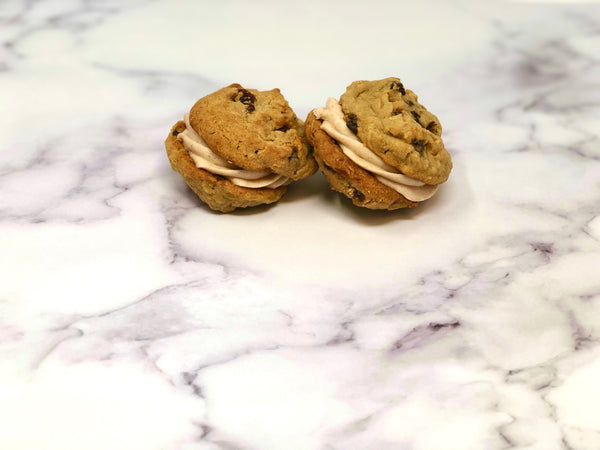 Cookie Sandwich - Oatmeal Raisin - The Dessert Ladies, custom corporate gifts, gourmet chocolate gifts,