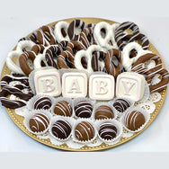 Large Baby Mixed Chocolate Platter- Customize It! - The Dessert Ladies