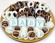 Large Baby Mixed Chocolate Platter- Customize It! - The Dessert Ladies, custom corporate gifts, gourmet chocolate gifts,