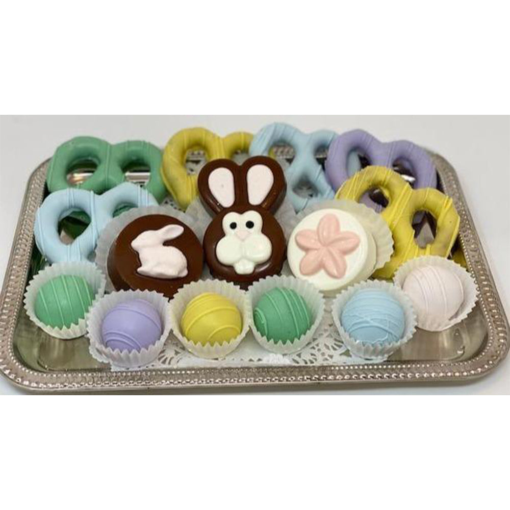 Easter Medium Chocolate Mixed Platter - The Dessert Ladies