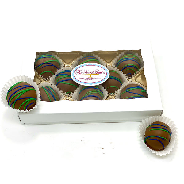 Father's Day Bien Box of 8 - The Dessert Ladies, custom corporate gifts, gourmet chocolate gifts,