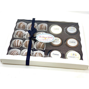 Custom Corporate Mixed Gift Box - The Dessert Ladies