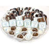 VIP Baby Platter- Customize It! - The Dessert Ladies, custom corporate gifts, gourmet chocolate gifts,