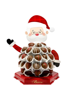 Santa Biens Chocolate Centerpiece - Christmas Chocolate Centerpiece - The Dessert Ladies