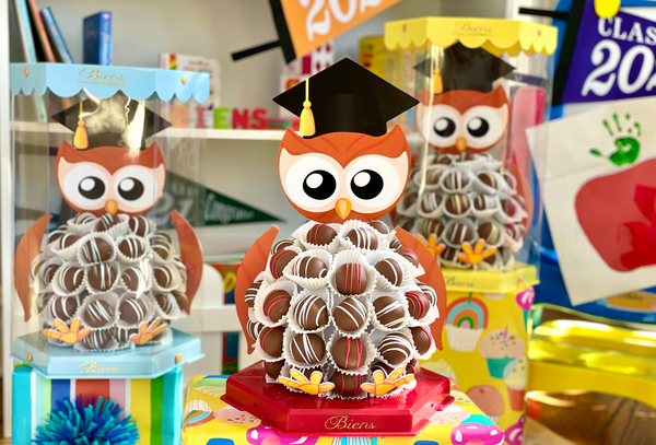 Graduation Bien Buddy- Owl - The Dessert Ladies