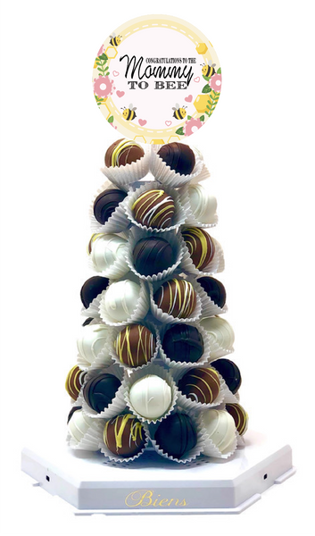 Mommy to Bee Bien Tower - The Dessert Ladies, custom corporate gifts, gourmet chocolate gifts,