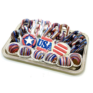Classic Patriotic Platter - The Dessert Ladies