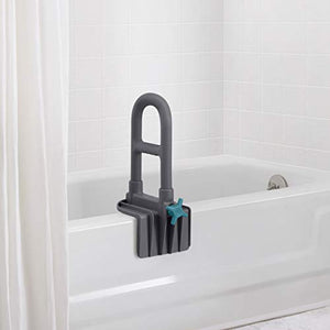 Medline Deluxe Plastic Tub Grab Bar