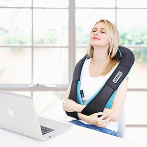 Neck Shoulder Back Massager with Heat