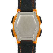 Load image into Gallery viewer, VibraLITE Mini 12-Alarm Vibrating Watch - Black & Orange