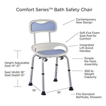 Load image into Gallery viewer, Juvo Bath Chair With Integrated Lift-Assist Handles