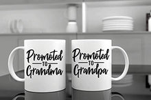 Load image into Gallery viewer, Promoted To Grandparents Mug