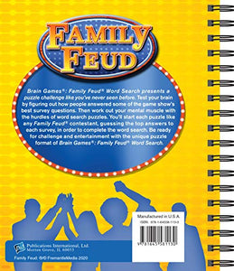 Family Feud Word Search
