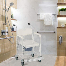 Load image into Gallery viewer, Transport Bathroom Shower Chair