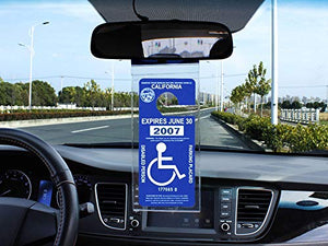 Handicap Parking Placard Holder