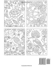 Load image into Gallery viewer, Large Print Animals & Flower Patterns Coloring Book (Premium Adult Coloring Books) (Volume 12)