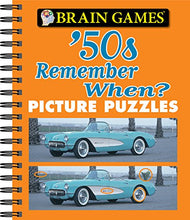 Load image into Gallery viewer, Brain Games - Picture Puzzles: '50s Remember When?
