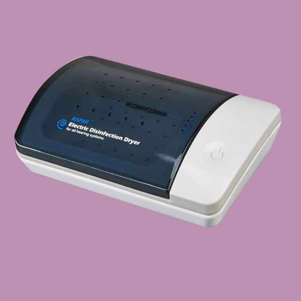 Electronic Kapak Ultra Hearing Aid Dryer and Dehumidifier