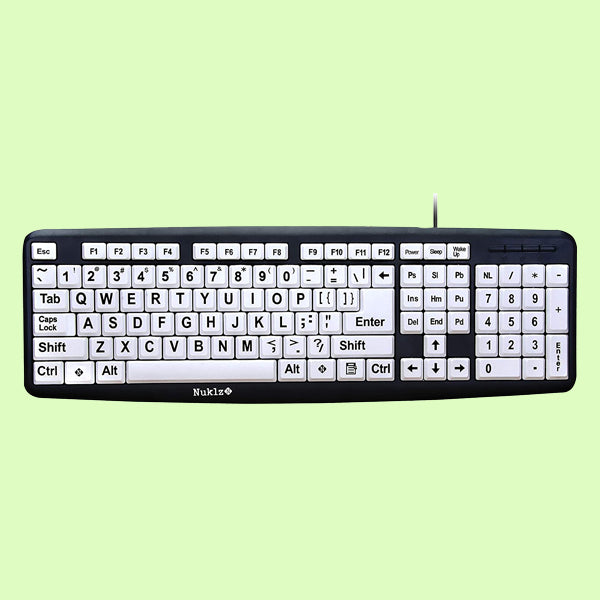 Large Print Computer Keyboard
