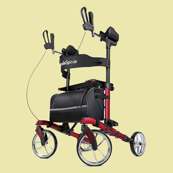 OasisSpace Upright Walker (Red)