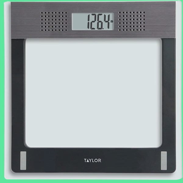Electronic Glass Talking Bathroom Scale
