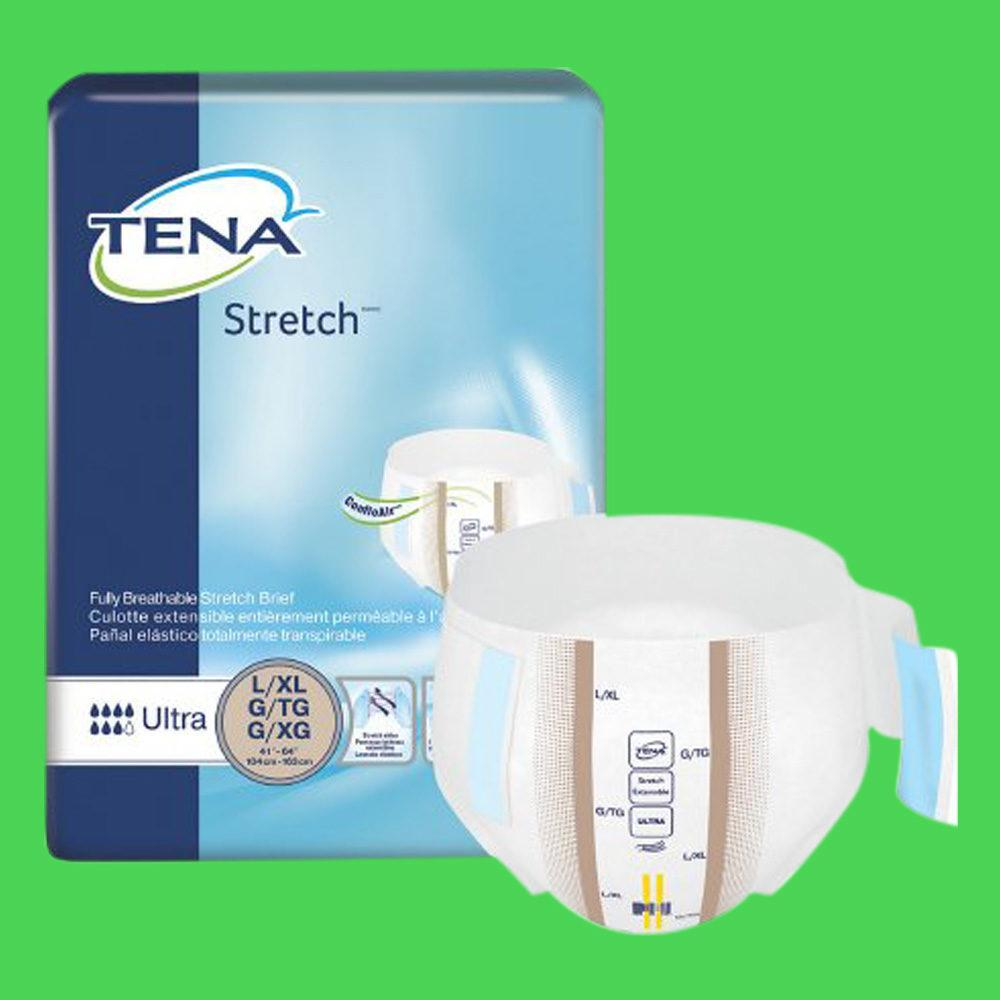 Tena Stretch Ultra Brief: Heavy Absorption