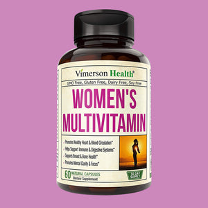 Women's Daily Multivitamin Multimineral Supplement