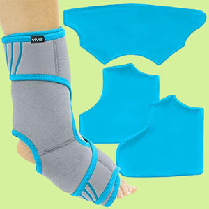 Vive Ankle Ice Pack Wrap