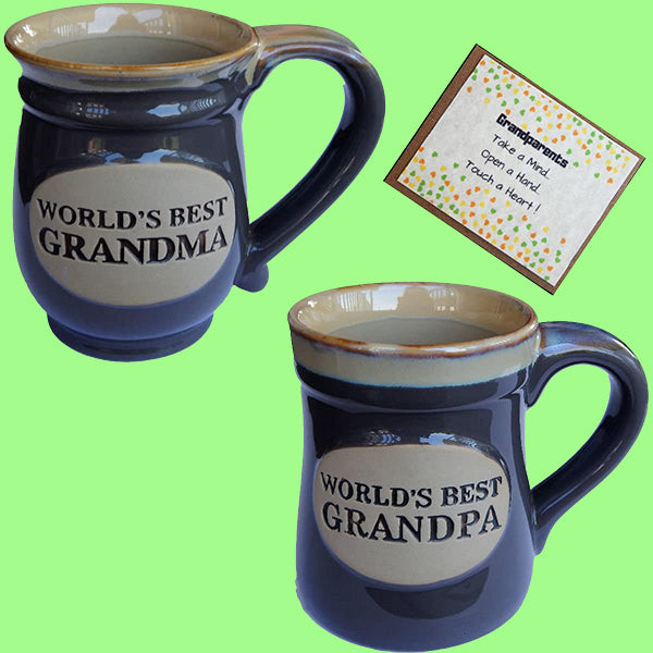 World's Best Grandparents Mug