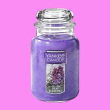 Load image into Gallery viewer, Yankee Candle Large Jar Candle Lilac Blossoms