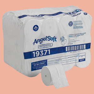 Angel Soft Coreless 2-Ply Toilet Paper