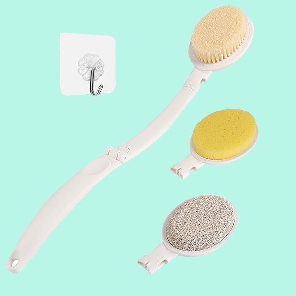 Bath Body Brush Set with Long Handle