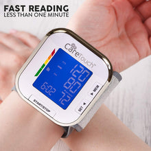Load image into Gallery viewer, Automatic Wrist Blood Pressure Cuff Monitor