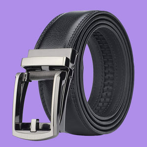 Men's Automatic Click Buckle Belt