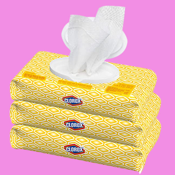 Disinfecting Cleaning Wipes (small)