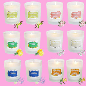 HELLY Soy Candle Aromatherapy Scented Candles