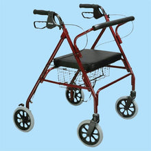Load image into Gallery viewer, Bariatric Folding Steel Rollator
