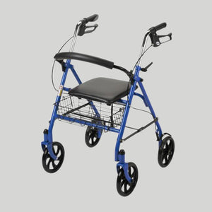 Bariatric Folding Steel Rollator