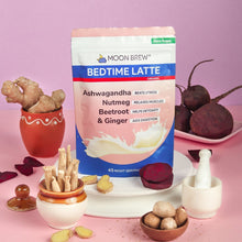 Load image into Gallery viewer, Bedtime Latte - Beetroot & Ginger (Pack of 2 - 10% OFF) - Moon Brew®