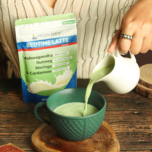Bedtime Latte - Moringa & Cardamom (45 night servings) - Moon Brew®