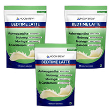 Load image into Gallery viewer, Bedtime Latte - Moringa & Cardamom (Pack of 3 - 20% OFF) - Moon Brew®