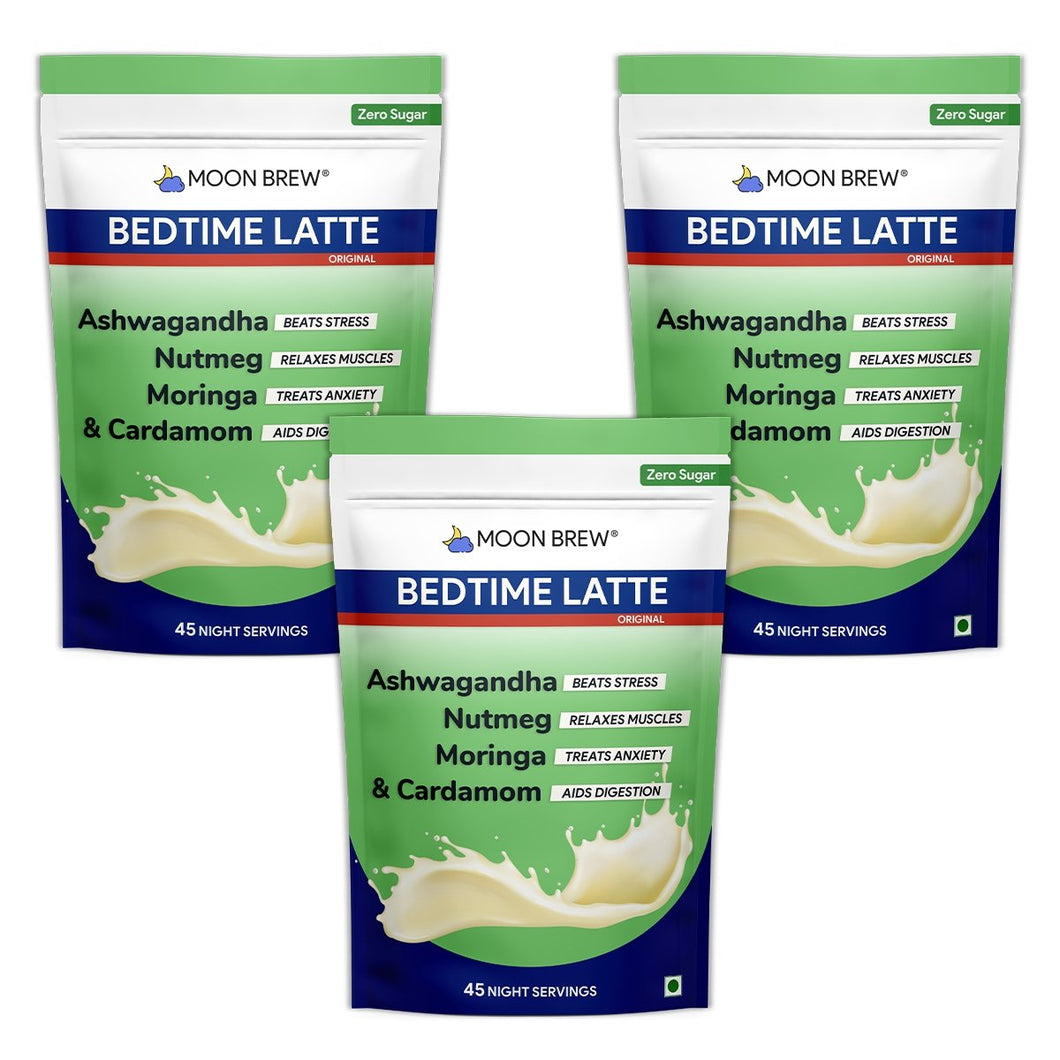 Bedtime Latte - Moringa & Cardamom (Pack of 3 - 20% OFF) - Moon Brew®