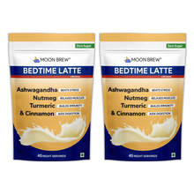 Load image into Gallery viewer, Bedtime Latte - Turmeric & Cinnamon (Pack of 2 - 10% OFF) - Moon Brew®