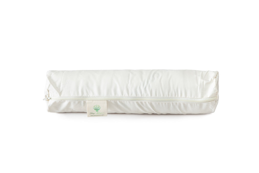 Organic Cotton Pillowcase for Neck Roll Pillow